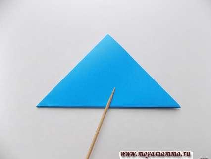 Повторное складывание треугольника