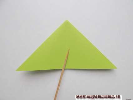 Складывание двойного треугольника