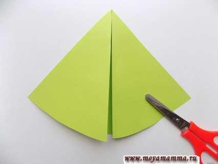 Отрезание лишней бумаги