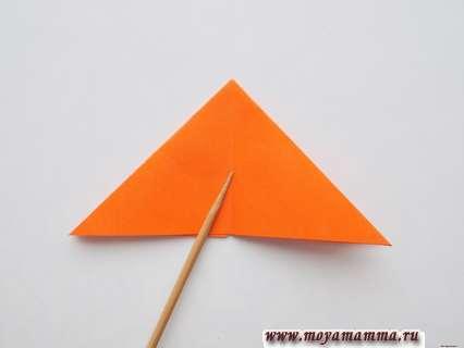 Сложение двойного треугольника
