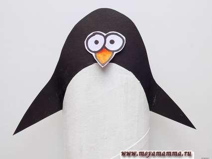 пингвин из втулки