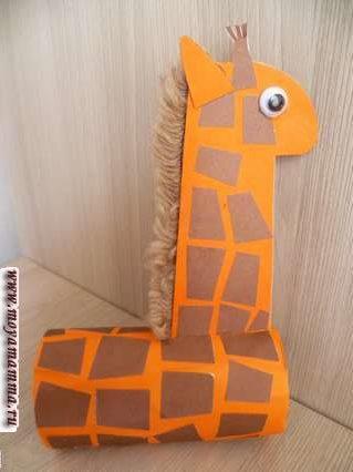 Вид жирафа с другой стороны