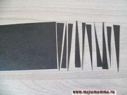 Заготовки для черных полос