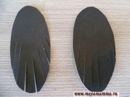 Оформление крыльев тукана