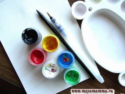 Необходимые материалы для рисунка