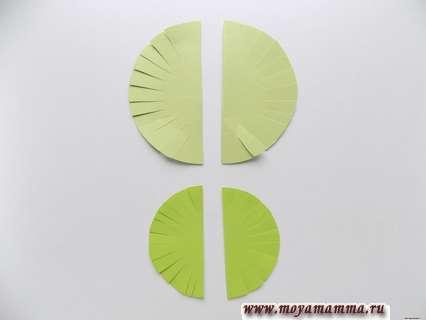 Круглые заготовки диаметром 7,5 и 5 см.