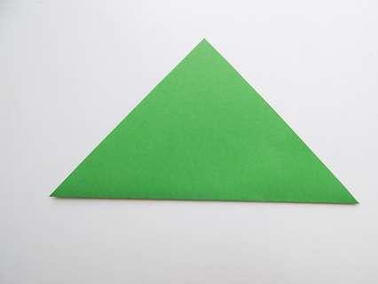 Складывание в треугольник.