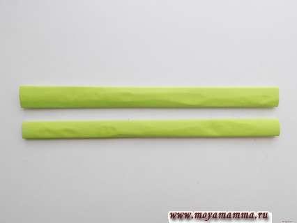 2 заготовки для ручки веера