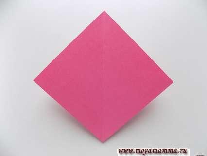 Складывание маленького квадрата
