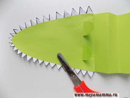 Вырезание зубов