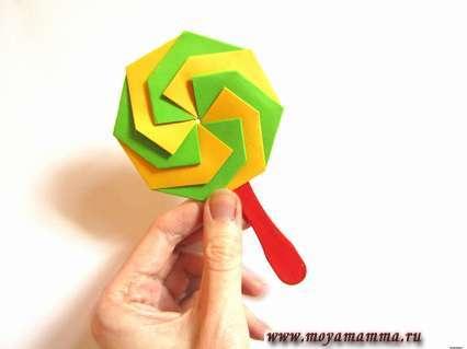 леденец оригами