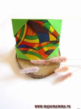 Рамка для фото оригами