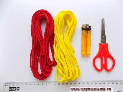 Необходимые материалы для изготовления браслета