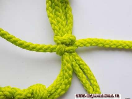 Затягивание узла
