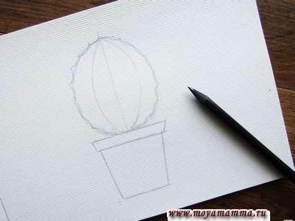 Рисование кактуса