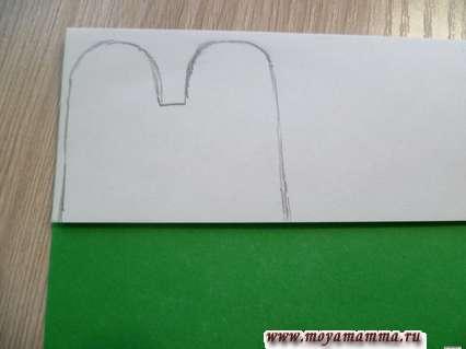 Рисунок мордочки лягушки