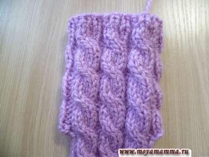 Вязание носочка