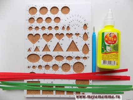 Материалы для изготовления клубники