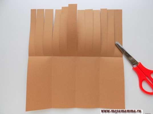 Разрезание заготовки на полоски
