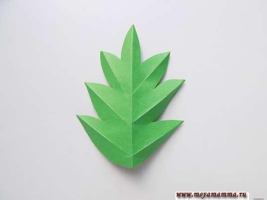 Оформление листочка