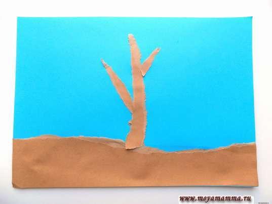 Веточки дерева