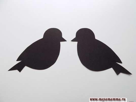 Две заготовки для птиц