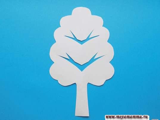 Дерево на развороте