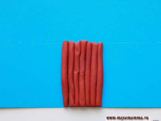 Прикрепление ствола к бумаге