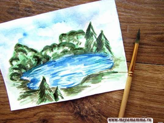 Насыщение цветом рисунка