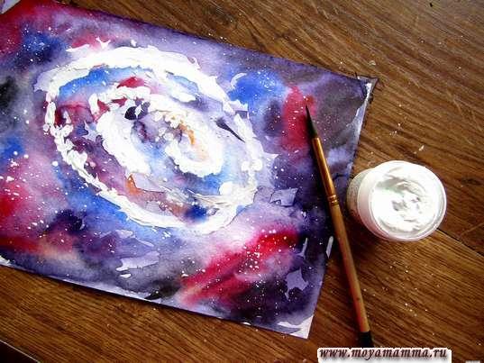 Рисование галактики