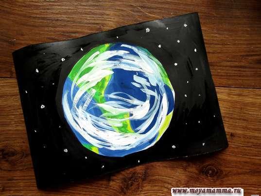 Рисунок планеты земля