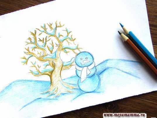 Раскрашивание дерева