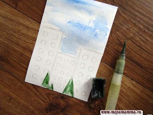 Рисование елок