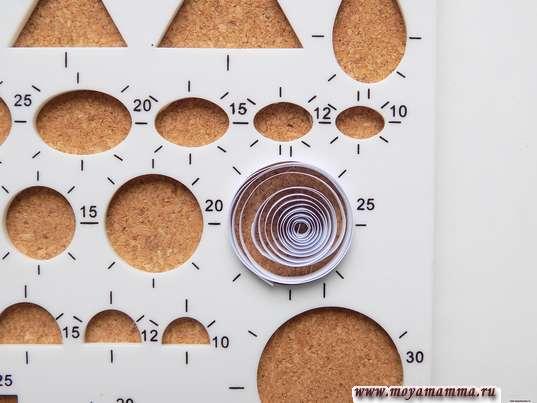 круг диаметром 25 мм