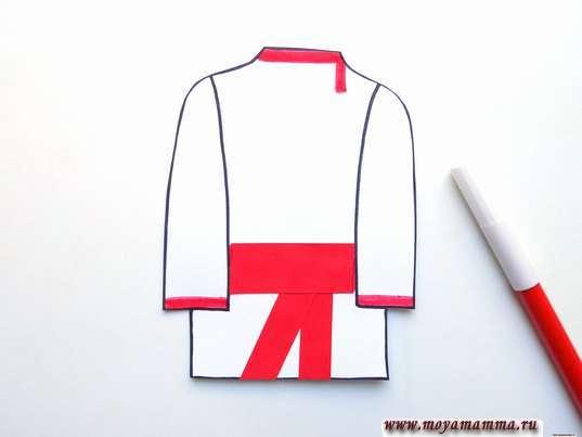 Украшение рубахи