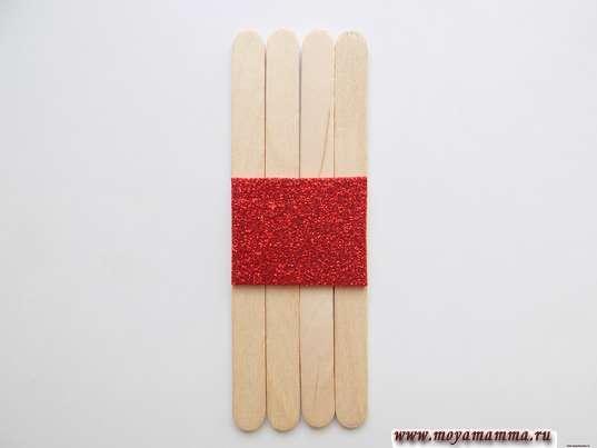 4 деревянные палочки