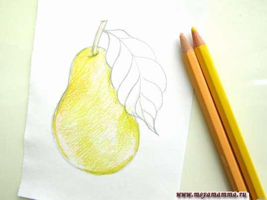 Использование бежевого и желтого цветов