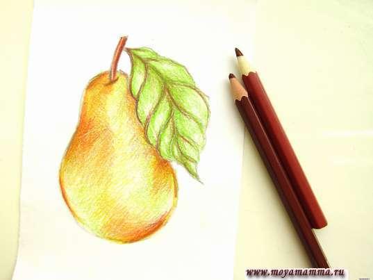 Использование в рисунке коричневых оттенков