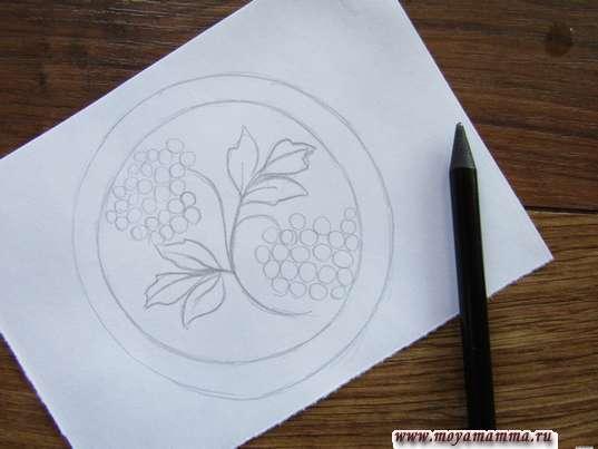 грозди рябины