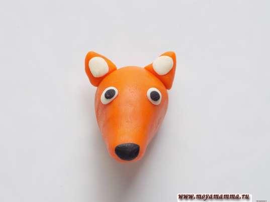 Изготовление глаз лисички