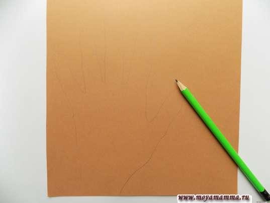 Рисунок ладошки