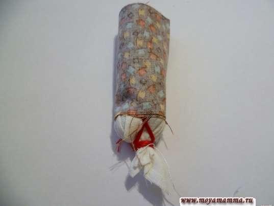 Наматывание ткани