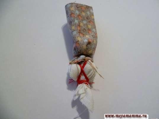 Закрепление ткани
