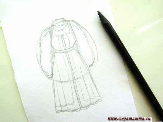 Детализация костюма