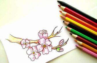 рисунок Весна пришла