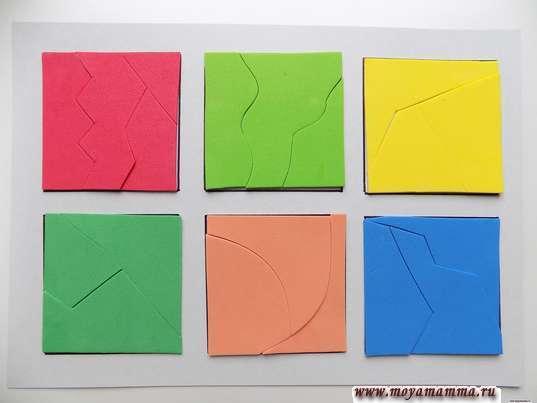 игра собери квадрат