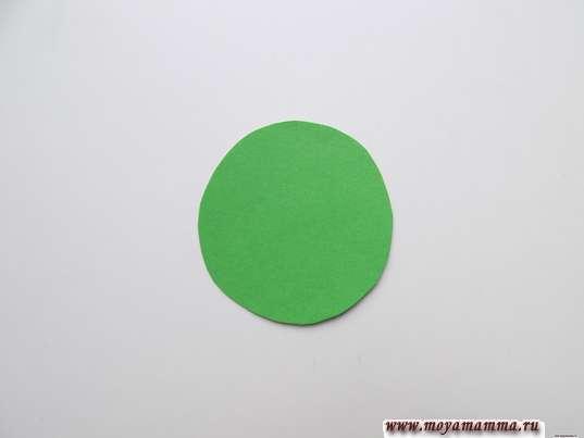 Зеленый круг