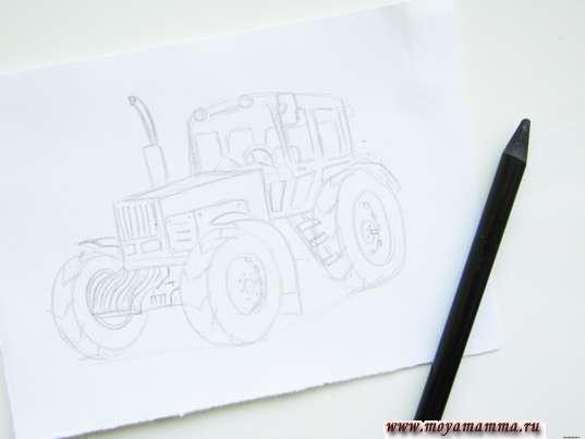 Детализация рисунка
