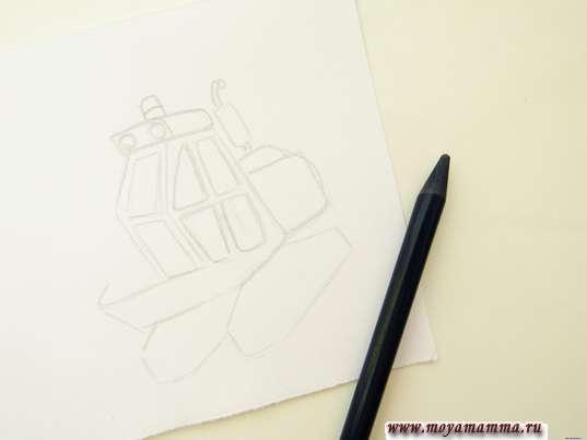 Детализация кабины