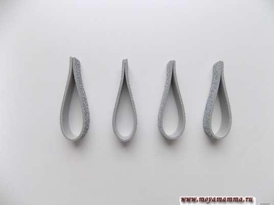 Серебристые петельки